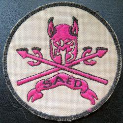 152° RI : insigne tissu 8,2 cm de la SAED du 152° régiment d'infanterie sur scratch