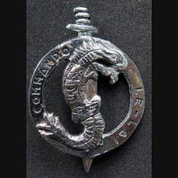 1° REC CDO LE LAI : insigne de béret du commando LE LAI du 1° REC Drago R 75 retirage