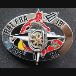 152° RI 4° RCH : 152° régiment d'infanterie & du 4° régiment de chasseurs 19° mandat trident BAT FRA locale n° 129