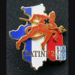 152° RI & 35° RI : 152° et 35° régiment d'infanterie BATINF 2 KFOR fabrication Arthus Bertrand