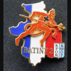 152° RI & 35° RI : 152° et 35° régiment d'infanterie BATINF 2 KFOR fabrication Arthus Bertrand N° 1362