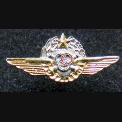 ALAT : insigne boutonnière de brevet de pilote observateur confirmé ALAT