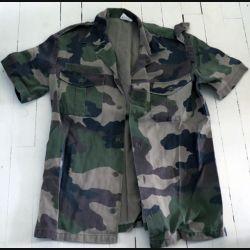 Chemisette de combat vert armé camouflée manche courte Paul Boye  taille 39-40