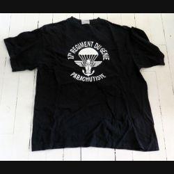 17° RGP : T shirt CCL du 17° RGP noir taille 96 demi patron