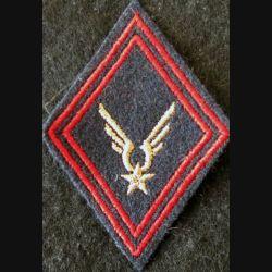 LOSANGE DE BRAS MODÈLE 45 : ALAT INF S/OFF aviation légère de l'armée de terre,  sous-officier de l'Infanterie