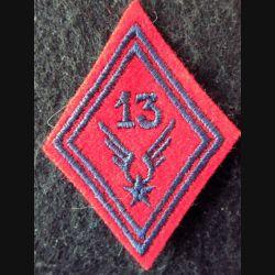 LOSANGE DE BRAS MODÈLE 45 : 13° GAOA ALAT (Artillerie) modèle troupe