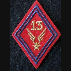 LOSANGE DE BRAS MODÈLE 45 : 13° GAOA ALAT (Artillerie) sous-officier