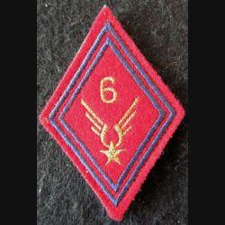 LOSANGE DE BRAS MODÈLE 45 : 6° RHC ALAT (Artillerie) modèle sous-officier