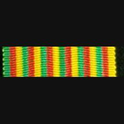 CAMEROUN : Ruban de l'Ordre du mérite Camerounais de longueur 9 cm