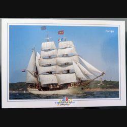 Carte postale de l'armada du siècle bateau Europa