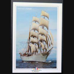 Carte postale de l'armada du siècle bateau Statsraad Lehmkuhl