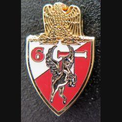 6° RCS : Pin's des transmissions du 6° régiment de commandement et des services