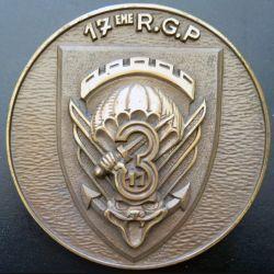 17° RGP : Tape de bouche de la 3° compagnie du 17° RGP de diamètre 15 cm