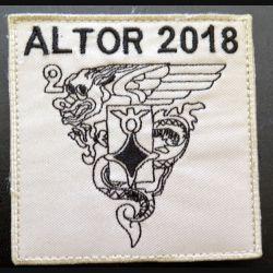 2° REP :  Insigne tissu du 2° Régiment étranger parachutiste ALTOR 2018