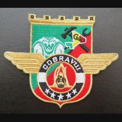 17° RGP : insigne tissé Unité COBRA VIII du 17° RGP Barkhane Mali 2016 doré