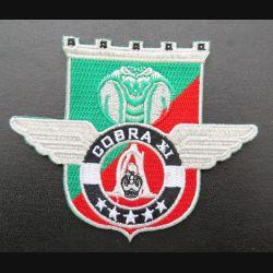 17° RGP : insigne tissé Unité COBRA XI du 17° RGP Barkhane Niger 2017 doré