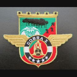 17° RGP : insigne tissé Unité COBRA X du 17° RGP Barkhane Niger Tchad Mali 2017 doré