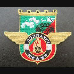 17° RGP : insigne tissé Unité COBRA XVII du 17° RGP Barkhane Mali 2019 doré
