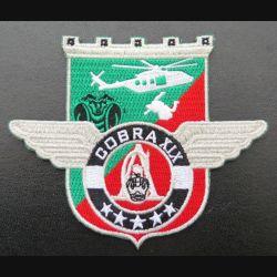 17° RGP : insigne tissé Unité COBRA XIX du 17° RGP Barkhane Mali 2020 argenté