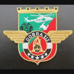 17° RGP : insigne tissé Unité COBRA XIX du 17° RGP Barkhane Mali 2020 doré