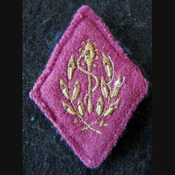 LOSANGE DE BRAS MODÈLE 45 :  auxiliaire sanitaire sous-officier du Service de santé des armées