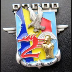 17° RGP : 2° compagnie du 17° régiment du génie parachutiste IMC Epervier Tchad n° 165