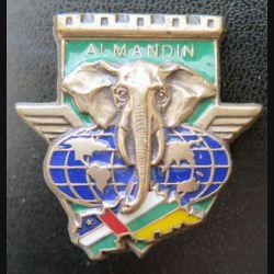 17° RGP CA RCA :Compagnie d'appui CA du 17° RGP en République Centrafricaine RCA opération Almandin en bronze massif