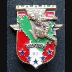 17° RGP GCP : Groupe commando parachutiste (GCP) du 17° RGP à Mostar 1997  SFOR bronze (leblond)
