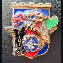 17° RGP : 2° compagnie du 17° RGP PAMIR XIII de fabrication Leblond non mentionné en bronze