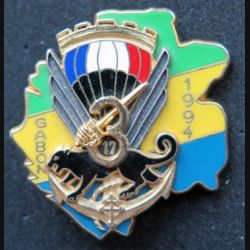 17° RGP :  3° compagnie du 17° régiment du génie parachutiste Gabon 1994 Ballard