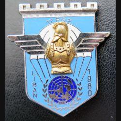 17° RGP : 17° régiment du génie parachutiste Liban 1980 5° mandat Delsart