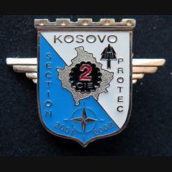 17° RGP : section Protec du 17° régiment du génie parachutiste Kosovo 2001 - 2002  Sheli n° 113