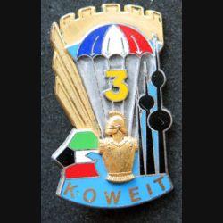 17° RGP : 3° compagnie du 17° régiment du génie parachutiste Koweit Fraisse