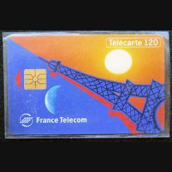 télécarte 120 unités France télécom neuve Tour Eiffel