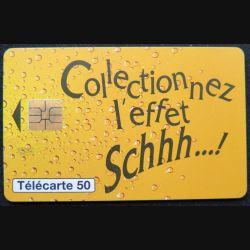 télécarte 50 unités France télécom Collectionnez l'effet Schhh...!