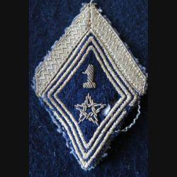 LOSANGE DE BRAS MODÈLE 45 :  sergent 1° régiment de spahis marocain AFN
