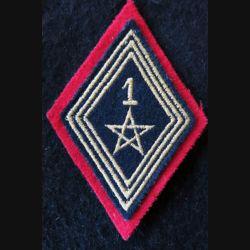 LOSANGE DE BRAS MODÈLE 45 : modèle troupe 1° régiment de spahis marocain actuel