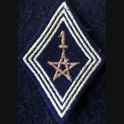 LOSANGE DE BRAS MODÈLE 45 : modèle sous officiers 1° régiment de spahis marocain actuel
