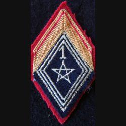LOSANGE DE BRAS MODÈLE 45 : Spahis de 1° classe 1° régiment de spahis marocain actuel