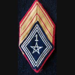 LOSANGE DE BRAS MODÈLE 45 : caporal (ADL) 1° régiment de spahis marocain actuel