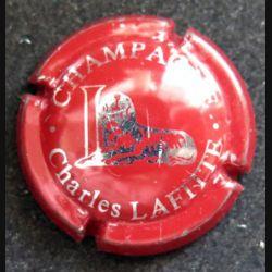 Capsule Muselet de bouteille de champagne Charles Lafitte Bordeaux