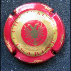 Capsule Muselet de bouteille de champagne Tsarine Rouge et or