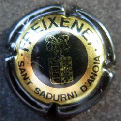 Capsule Muselet de bouteille de Freixenet contour noir