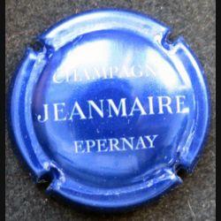 Capsule Muselet de bouteille de champagne Jeanmaire bleu métalisé