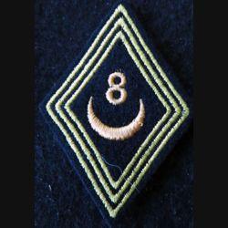 LOSANGE DE BRAS MODÈLE 45 :  modèle troupe 8° régiment de spahis algériens AFN 1955