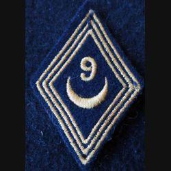 LOSANGE DE BRAS MODÈLE 45 :  modèle troupe 9° escadron de spahis algériens AFN 1956