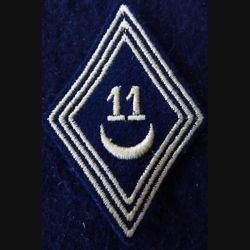 LOSANGE DE BRAS MODÈLE 45 :  modèle troupe 11° escadron de spahis algériens AFN 1956