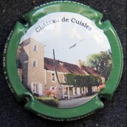 Capsule Muselet de bouteille de champagne Pascal Delette contour vert