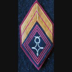 LOSANGE DE BRAS MODÈLE 45 : brigadier de la compagnie méhariste Tidikelt-Hoggar 1958