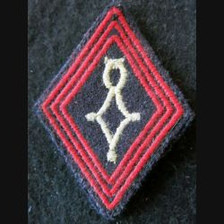 LOSANGE DE BRAS MODÈLE 45 : modèle troupe compagnie saharienne infanterie 1958